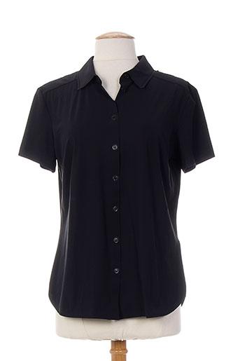 alma libre chemises femme de couleur noir