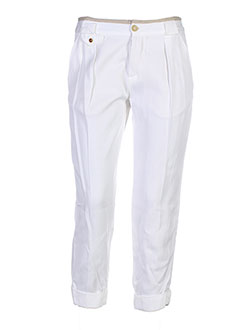 Pantacourt citadin blanc PAUL SMITH pour homme