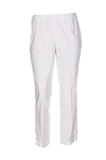 vera mont pantalons femme de couleur gris