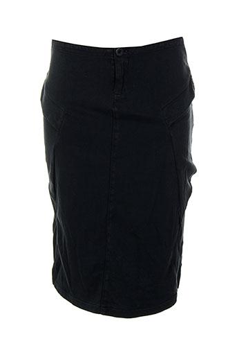 Jupe mi-longue bleu EUROPEAN CULTURE pour femme