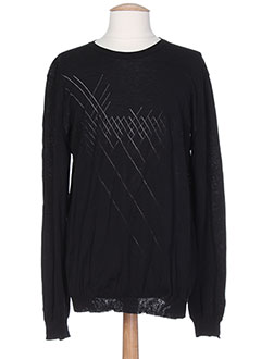 Pull col rond noir GIVENCHY pour homme