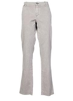 Pantalon casual gris DOLCE & GABBANA pour homme