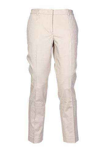 Pantalon chic beige ALBERTO BIANI pour homme