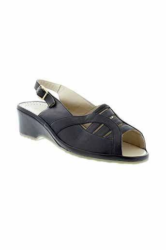 perle et de et charme sandales et nu et pieds femme de couleur bleu
