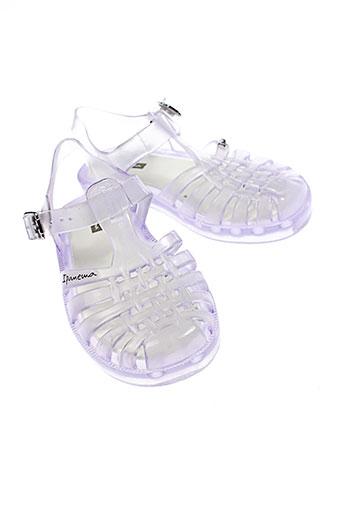 ipanema sandales et nu et pieds enfant de couleur gris