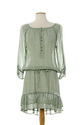 by ti mo robes femme de couleur vert
