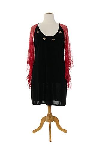 edmond boublil tuniques femme de couleur noir