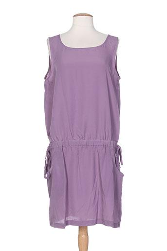 rivieres de lune robes femme de couleur violet