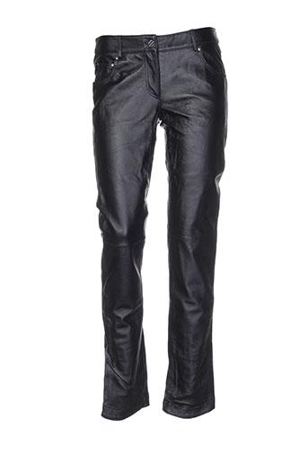 mac douglas pantalons femme de couleur noir