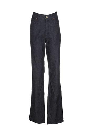 jacky-o by modarelli pantalons femme de couleur bleu