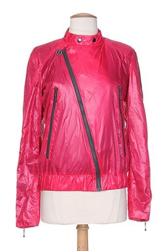 55 et dsl blousons femme de couleur rose (photo)