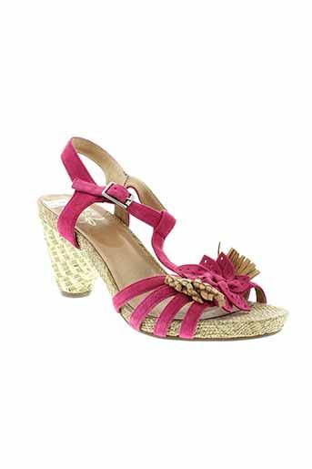 karston sandales et nu et pieds femme de couleur rose