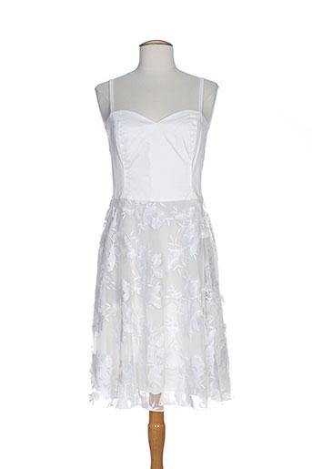 nana nucci robes femme de couleur blanc