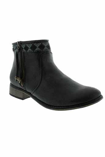 roxy et girl boots femme de couleur noir