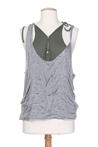 rare chemises femme de couleur gris