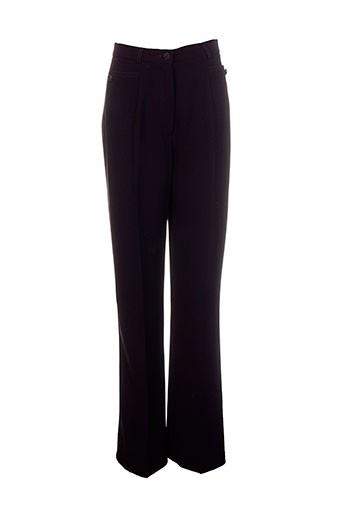 Pantalon chic violet CHRISTINE LAURE pour femme