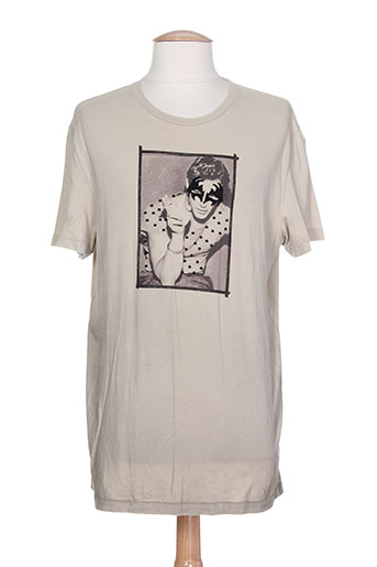 Courtes Made In Soldes Gris00 Pas Modz T Manches De En Couleur Gris Cher Shirts 763625 Italy f76gbyvY