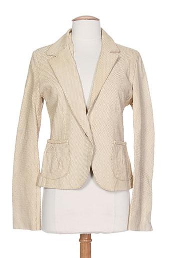 Veste casual beige DACUTE pour femme