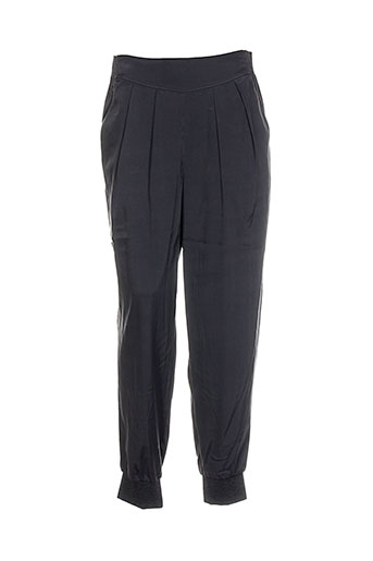 black label pantalons femme de couleur gris