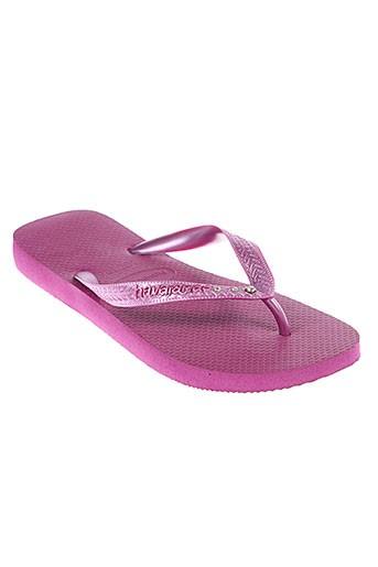 havaianas tongs femme de couleur violet