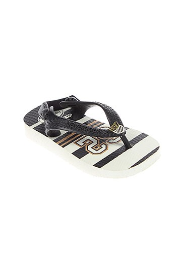 havaianas chaussures garçon de couleur noir