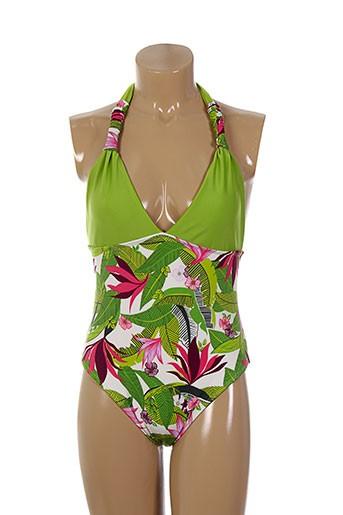 bahia beach baule maillots de bain femme de couleur vert