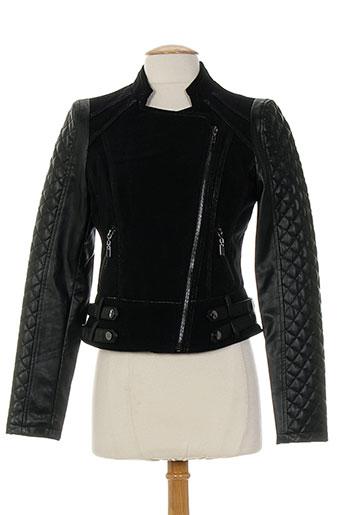 arturo manteaux femme de couleur noir