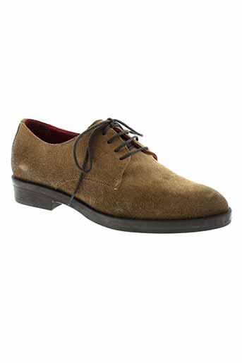 donna piu chaussures femme de couleur marron