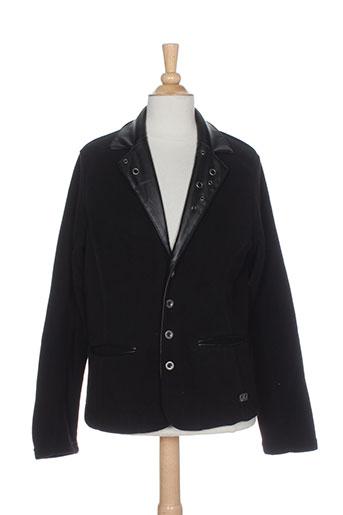 chipie vestes fille de couleur noir
