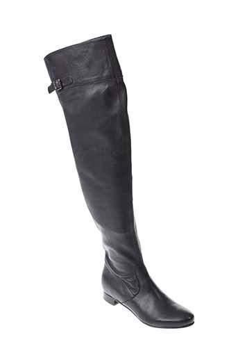 rosemetal bottes femme de couleur noir