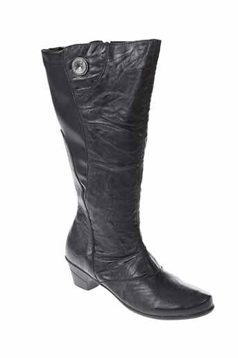 geo et reino bottes femme de couleur noir