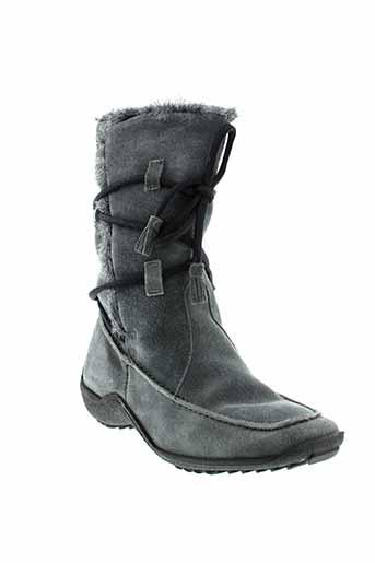 arima boots femme de couleur gris