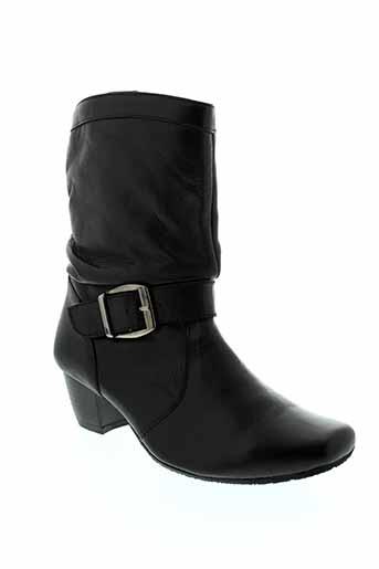 inea bottines femme de couleur noir