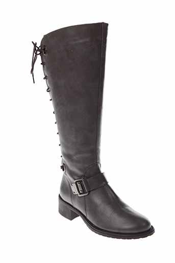 dos et de et dos bottes femme de couleur marron
