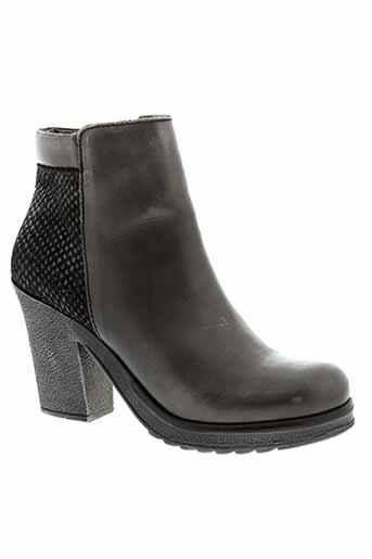 axell bottines femme de couleur gris