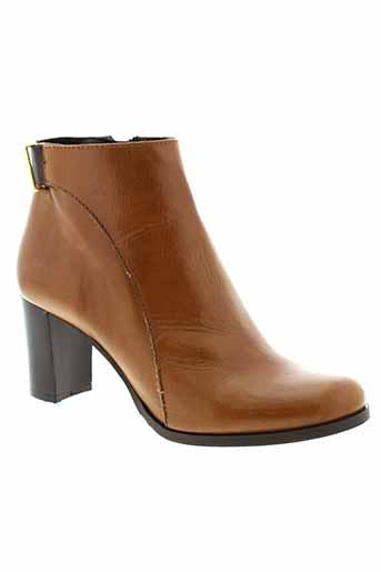 bella et storia boots femme de couleur marron