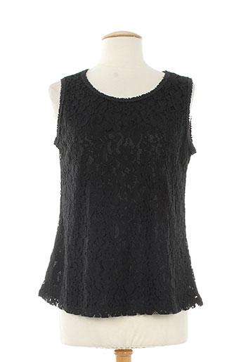 christelle chemises femme de couleur noir