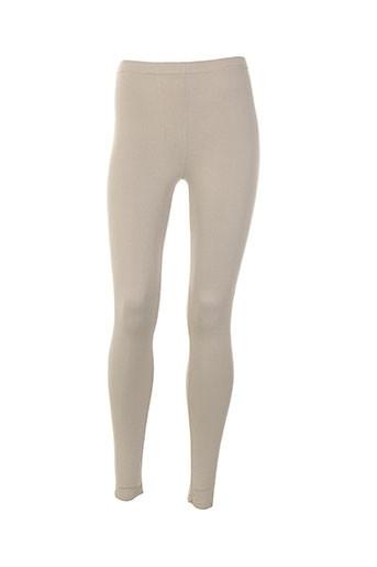 rendez-vous pantalons femme de couleur beige
