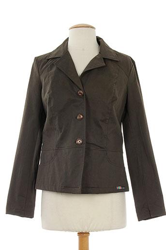 Veste chic / Blazer marron CHRISMAS'S pour femme
