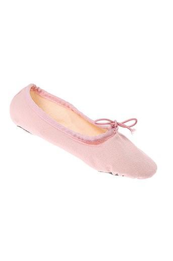 repetto ballerines fille de couleur rose