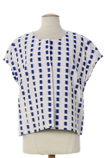 piazza sempione vestes femme de couleur bleu