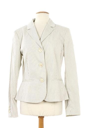cerruti 1881 vestes femme de couleur blanc