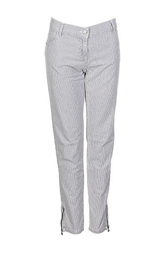 soeur pantalons fille de couleur gris