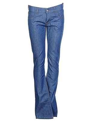Jeans coupe droite bleu SOEUR pour fille