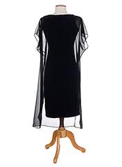 Robe mi-longue noir PAUL BRIAL pour femme seconde vue