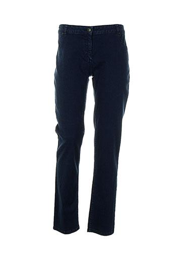 womn pantalons et decontractes femme de couleur bleu