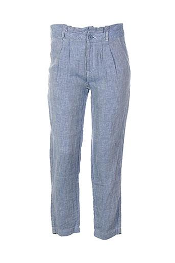womn pantalons et citadins femme de couleur bleu