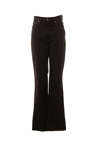 cinoche pantalons femme de couleur marron