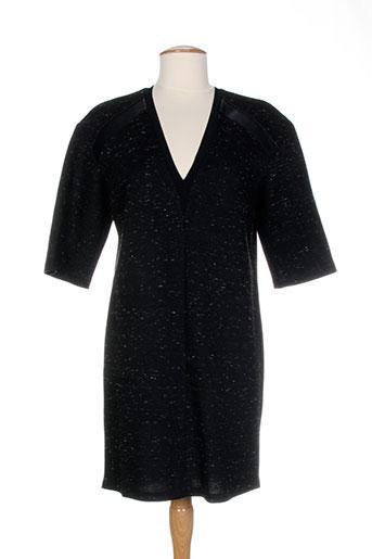 Robe mi-longue noir COSTUME NEMUTSO pour femme