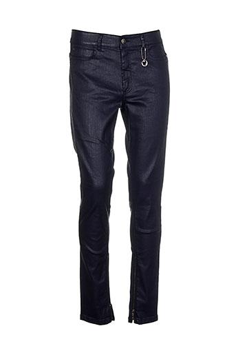 Pantalon casual noir COSTUME NEMUTSO pour femme